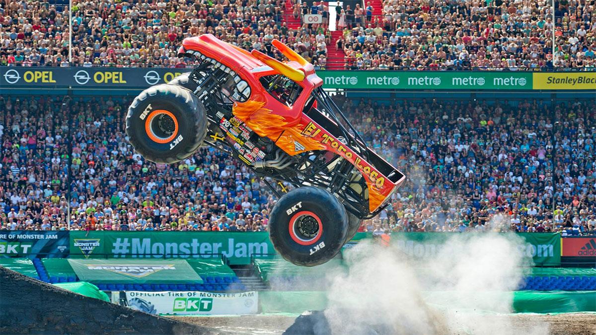 Monster Jam World Finals XX - Camping World Stadium